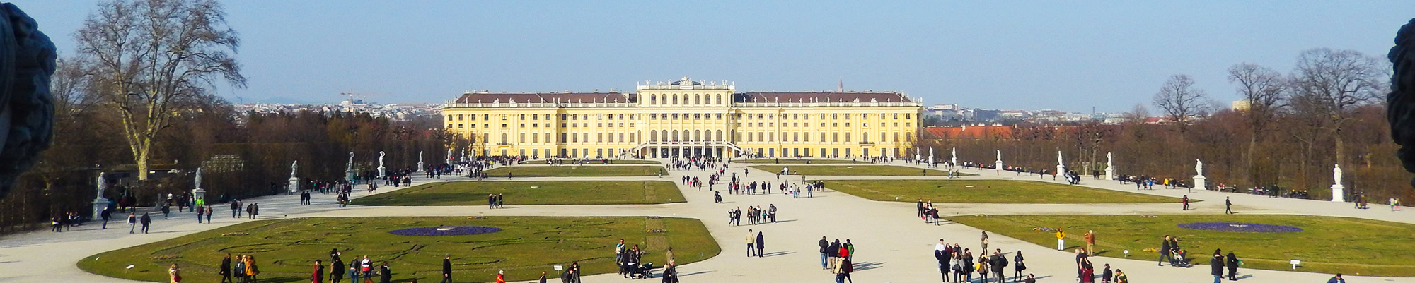 Großes Foto von Schloss Schönbrunn